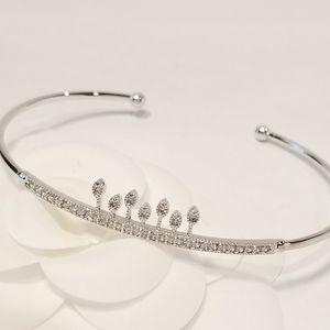 Pave Cubic Zirconia Bracelet Bangle Cuff